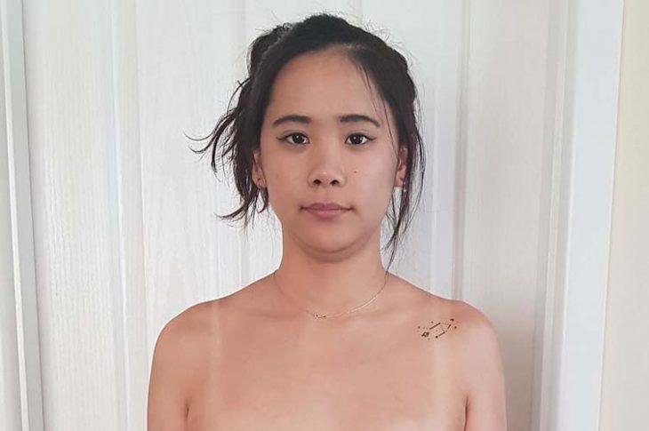 nude asian girl