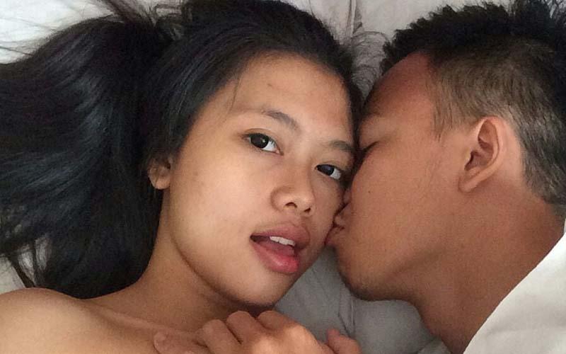 busty asian girlfriend