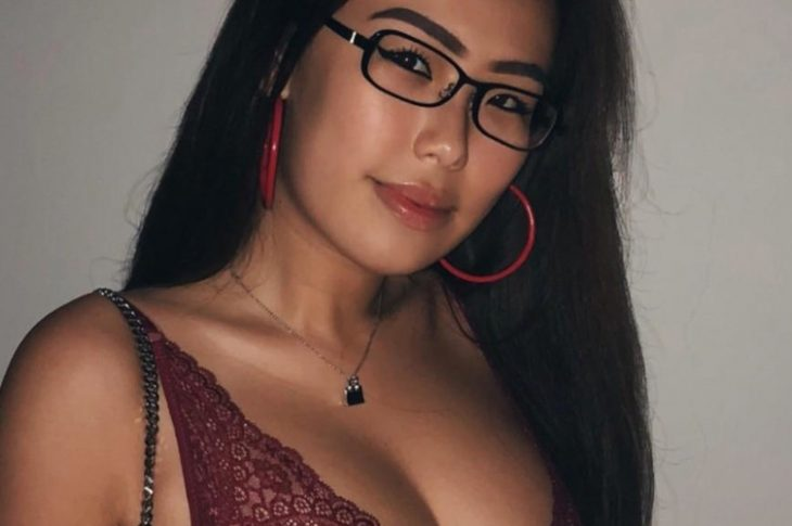 nerdy asian girl